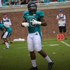 Mike McClure, Coastal Carolina's All Big South linebacker did some NFL Combine Training with Coach D